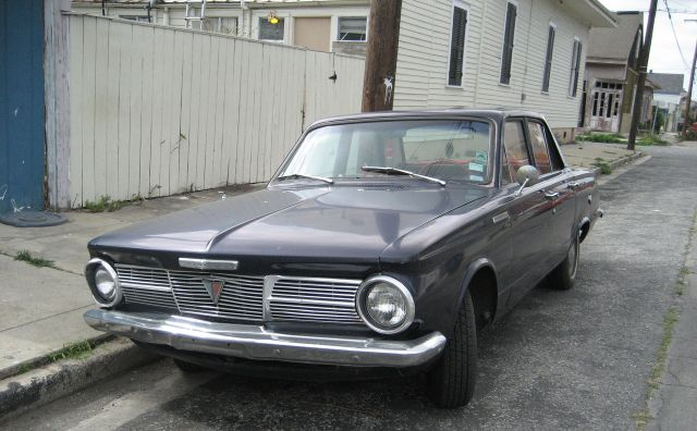 1965 Plymouth Valiant 100 black front