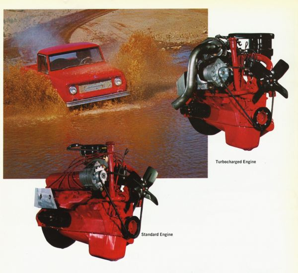 1965 Standard and Turbocharged Engines for the Scout