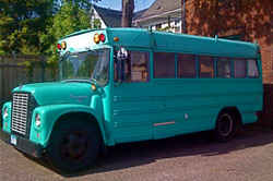 1966 International, 36-passenger school bus
