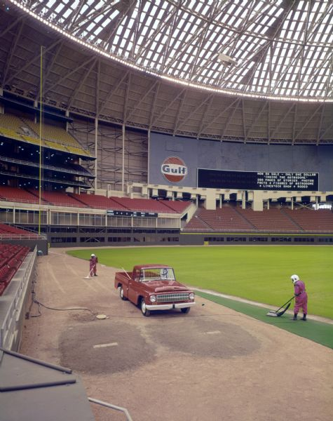1966 International D-Line Truck used by Astrodome Groundskeepers