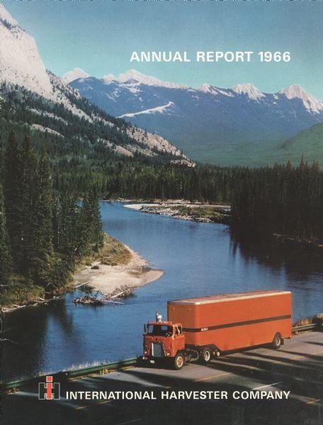 1966 International Harvester Company's annual report