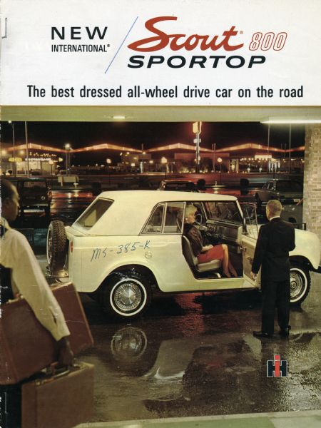 1966 International Harvester Scout 800 Sportop truck