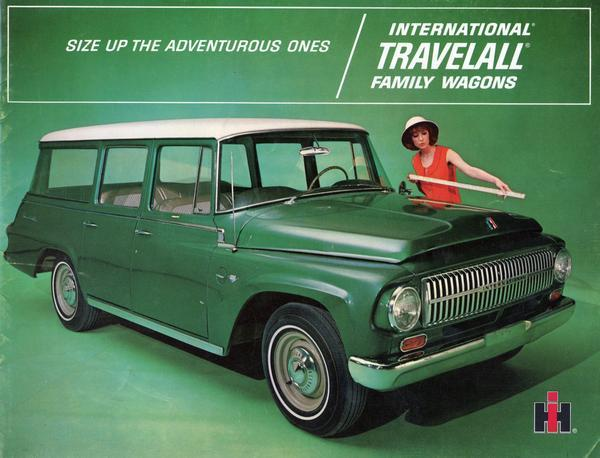1966 International Travelall Family Wagons
