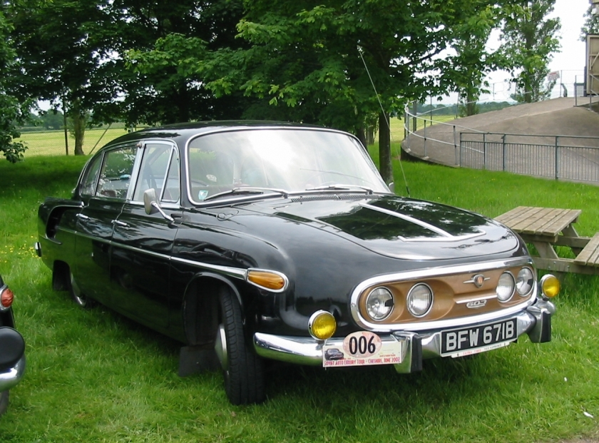 1966 Tatra 2 603 featuring four headlights