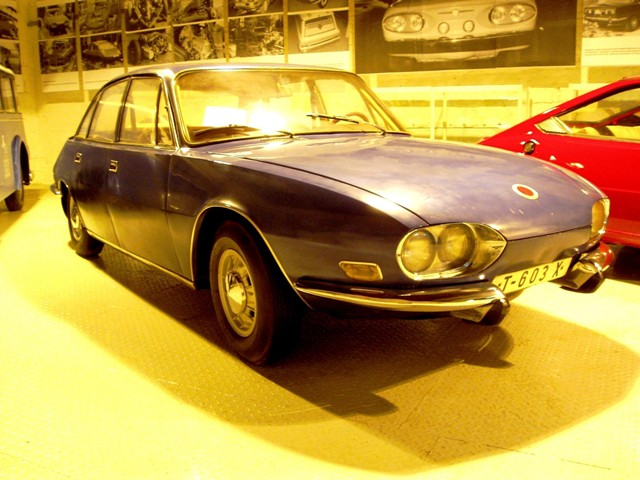 1966 Tatra 603 X prototype at Transport museum Bratislava, Slovakia