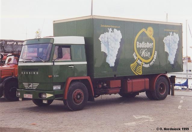 1967 Büssing BS 16 L Koffer-Lkw