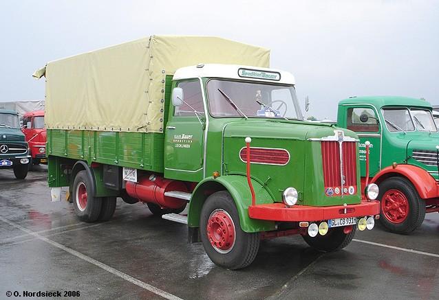 1967 Büssing Burglöwe LS 7 Pritschen-Lkw