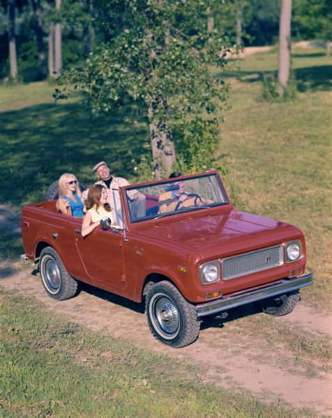 1967 Couples in International Scout