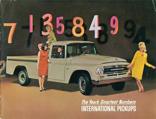 1967 International Pickups The Year's Smartest Numbers