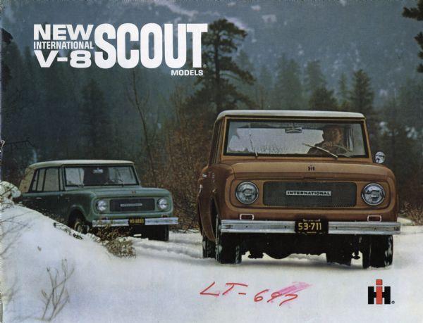 1967 International Scout V-8 Advertising Booklet