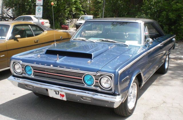 1967 Plymouth Belvedere (Cruisin' At The Boardwalk '11)