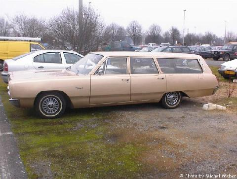1967 Plymouth Fury Station Wagon 2