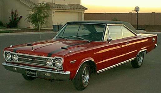 1967 Plymouth GTX a