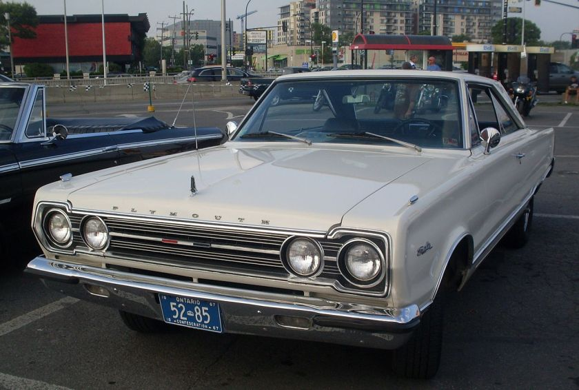 1967 Plymouth Satelitte 2-door hardtop