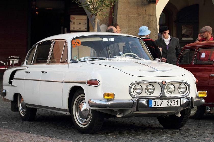 1967 Tatra 2-603, 2013 Oldtimer Bohemia Rally