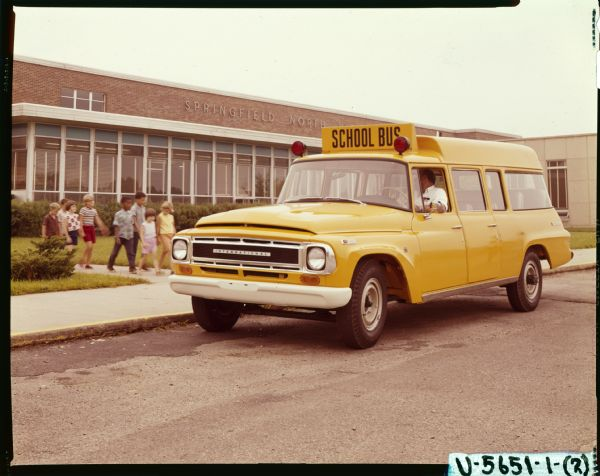 1968 International C-1200 School Bus