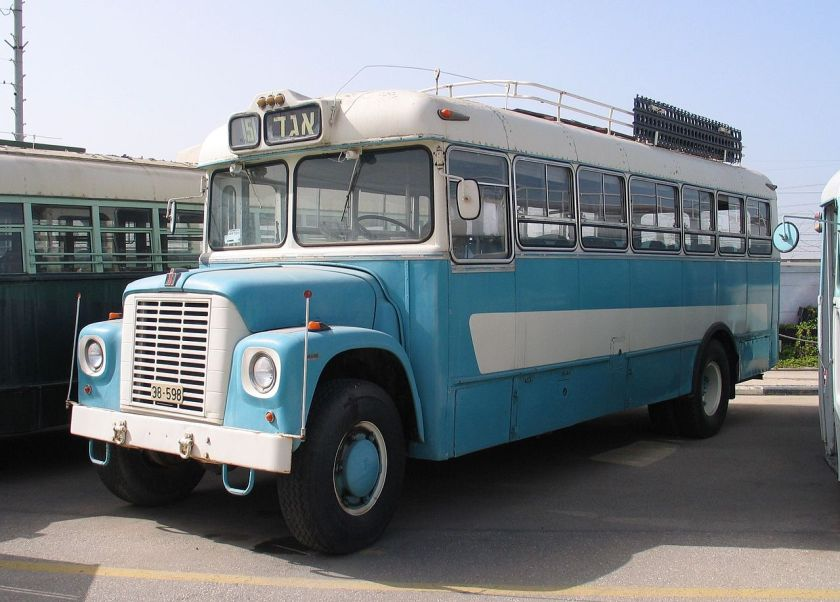 1968 International Harvester Loadstar bus at the Egged Museum, of Holon, Israel