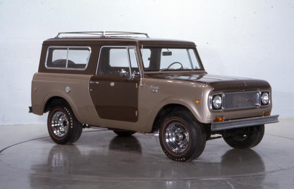 1968 International Scout Pickup
