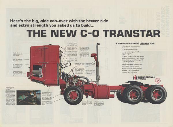 1968 International Transtar Advertising Poster