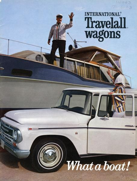 1968 International Travelall Wagon - What a Boat!