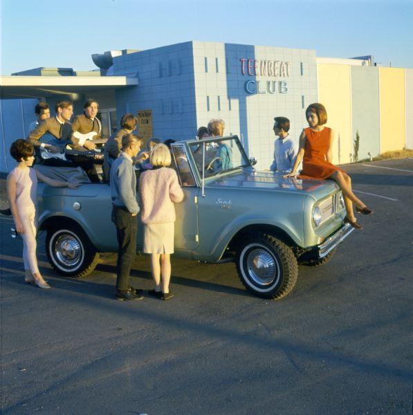 1968 Shindig at the Teenbeat Club