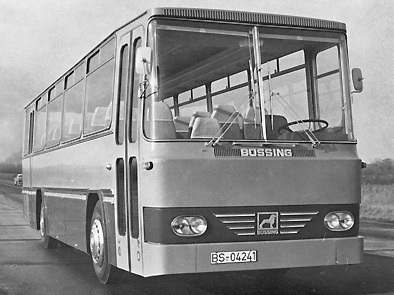 1969 Büssing BS 100 GT