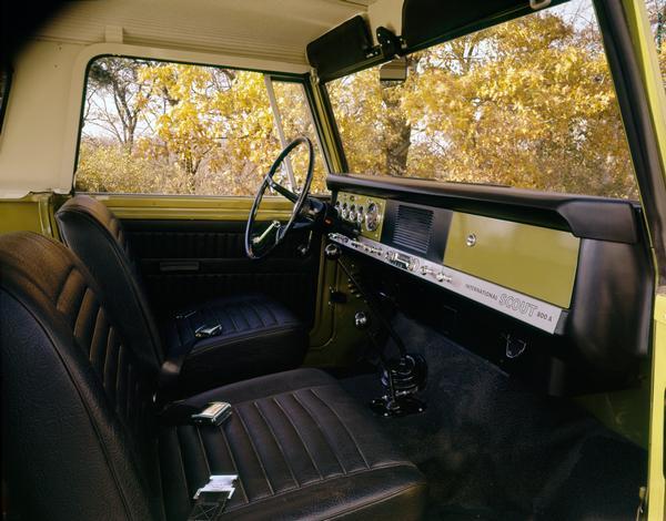 1969 International Scout 800A Interior