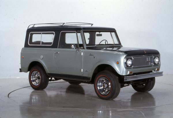 1969 International Scout Aristocrat Pickup