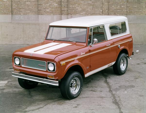 1969 International Scout SR-2 Truck