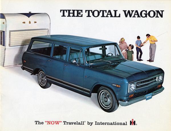 1969 International Travelall Station Wagon The Total Wagon