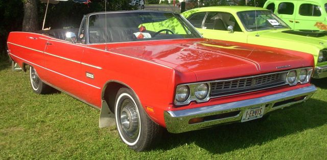 1969 Plymouth Sport Fury Convertible (Rigaud)