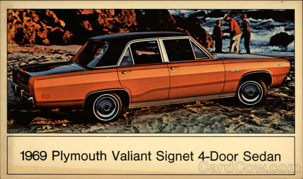 1969 Plymouth Valiant Signet 4-Door Sedan