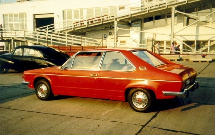 1969 Tatra 613 coupe - prototype Vignale