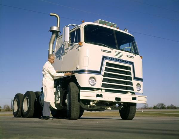 1969 Testing the International Transtar Semi