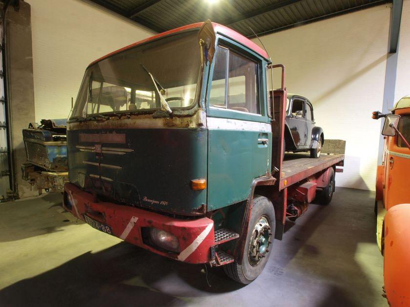 1970 Büssing truck