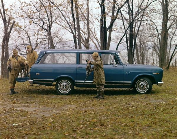 1970 Hunting Trip with International Travelall 1000 Pickup