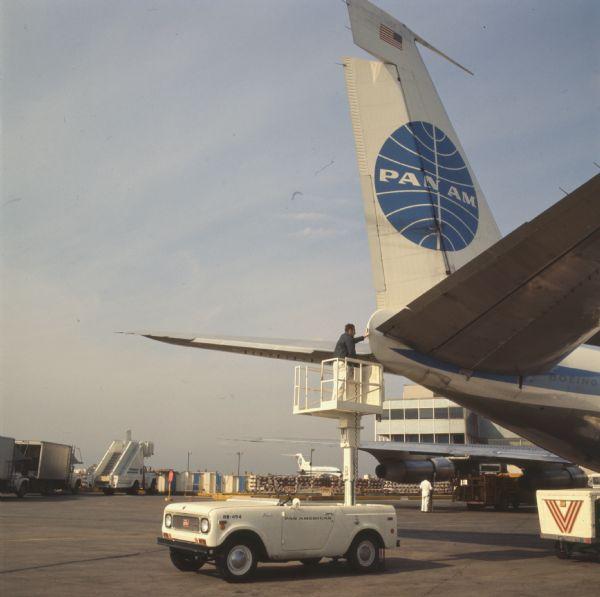 1970 International Harvester Scout with Lift Platform