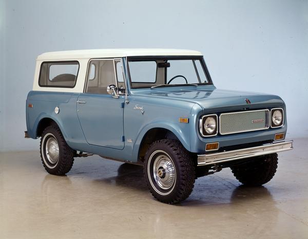 1970 International Scout 4x4 Pickup
