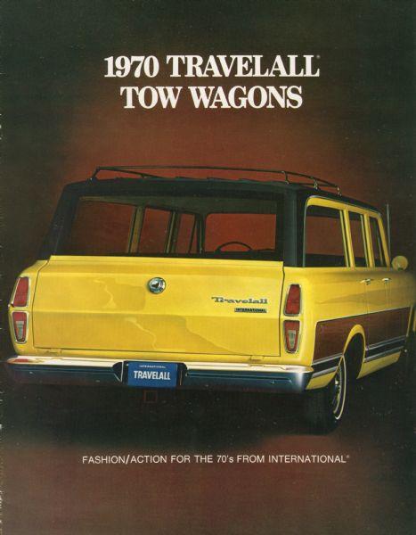 1970 International Travelall Station Wagon Brochure