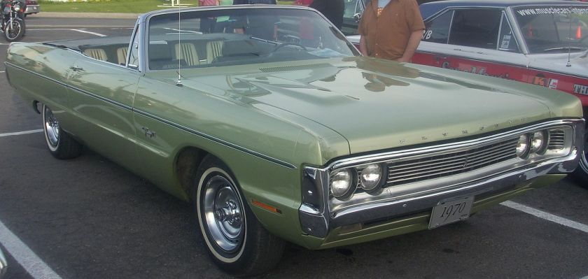 1970 Plymouth Fury III Convertible (Orange Julep)