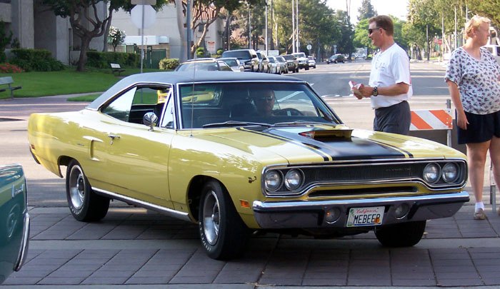 1970 Plymouth Road Runner a