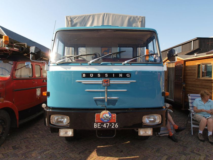 1971 Büssing BS12L RL43, Dutch licence registration BE-47-26 pic1