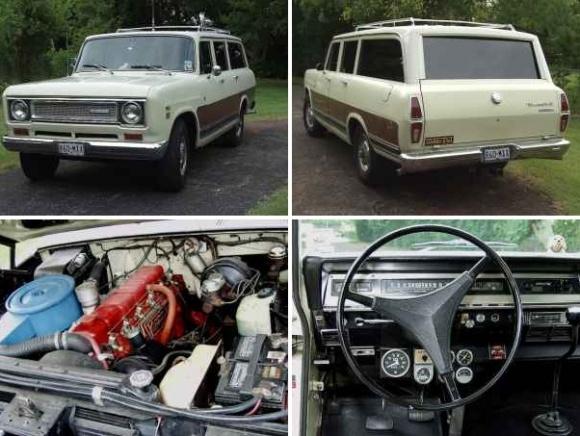1971 International Harvester Travelall Wagon Perkins Diesel Conversion