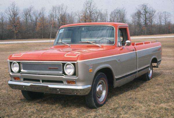 1971 International Johnnie Reb Truck front
