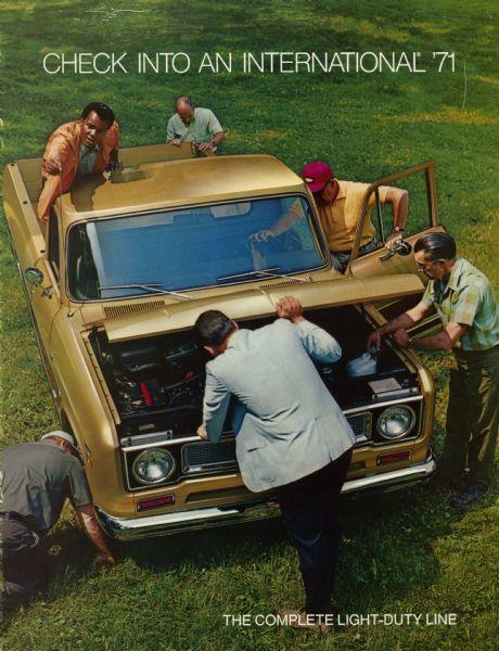 1971 International Pickup Truck Brochure