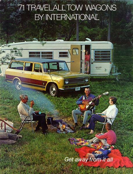 1971 International Travelall Tow Wagons