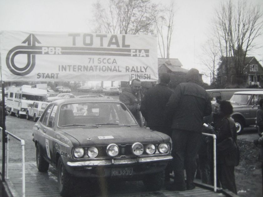 1971 Plymouth Cricket, winner of the 1971 Press-on-Regardless Rally