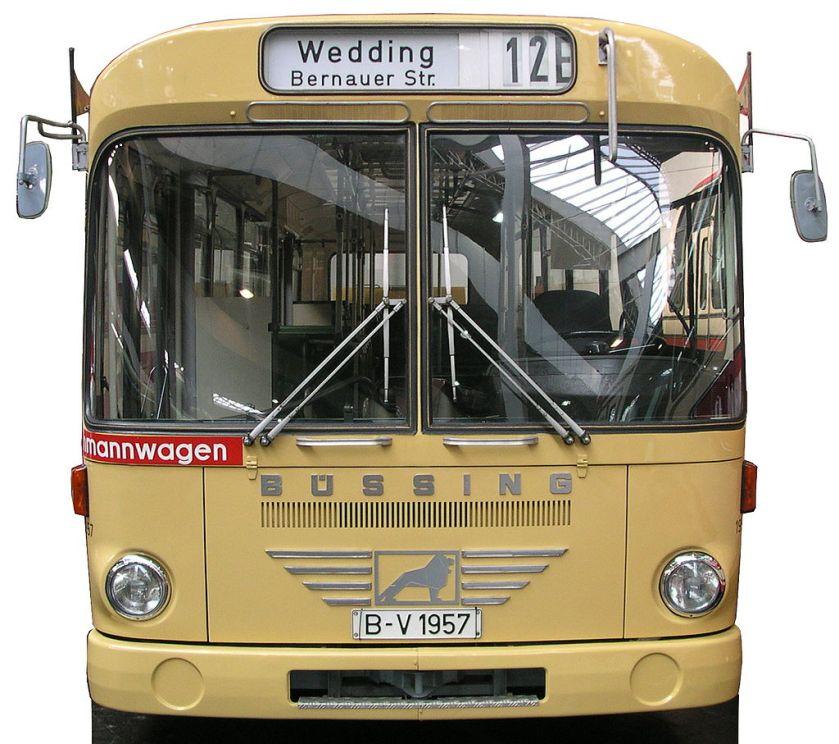 1972 Büssing BS 110 V für Berlin