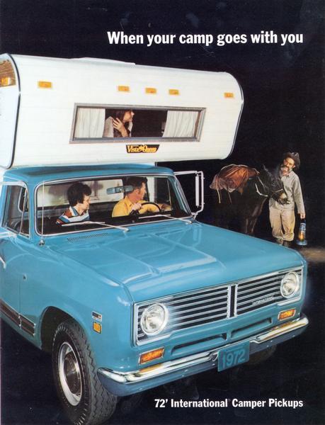 1972 International Camper Pickups