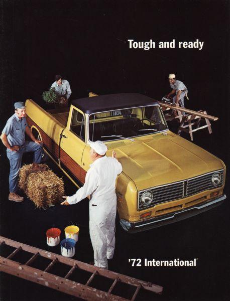 1972 International Pickup Truck Brochure